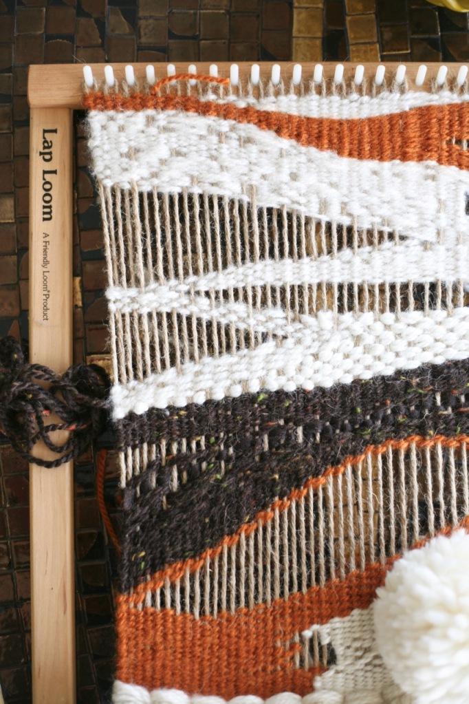 diy weaving lap loom