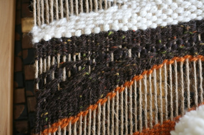 diy weaving children's loom