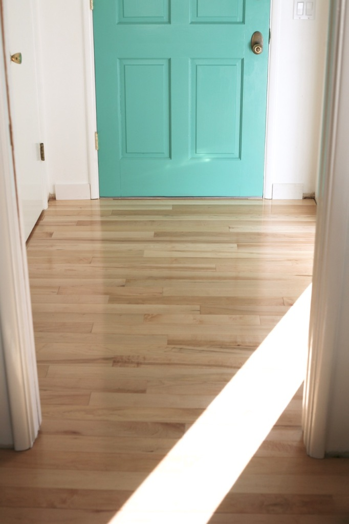 hardwood floors diy install entry threshold bellawood maple