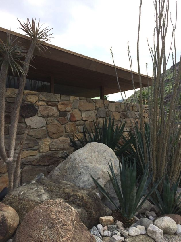 Edris House E Stewart Williams Palm Springs Desert Modern landscape design