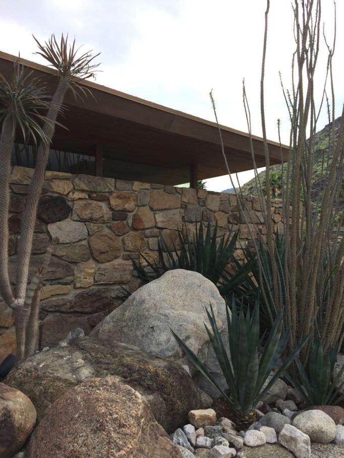 Edris House E Stewart Williams Palm Springs Desert Modern landscape design