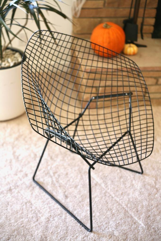 Surprising Bertoia Diamond Chair Cover Suburban Pop Squirreltailoven Fun Painted Chair Ideas Images Squirreltailovenorg