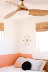 modern ceiling fan brass gold