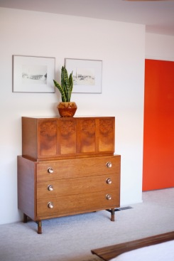 mid century chest dresser tallboy