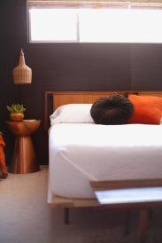 urban outfitters round pillow velvet mid century